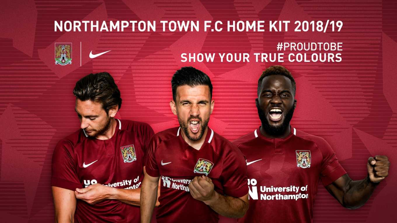 17a7f21b995 THE NEW HOME KIT REVEALED - News - Northampton Town