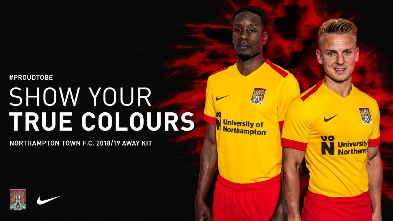 79a663347bc THE NEW NORTHAMPTON TOWN AWAY KIT - News - Northampton Town