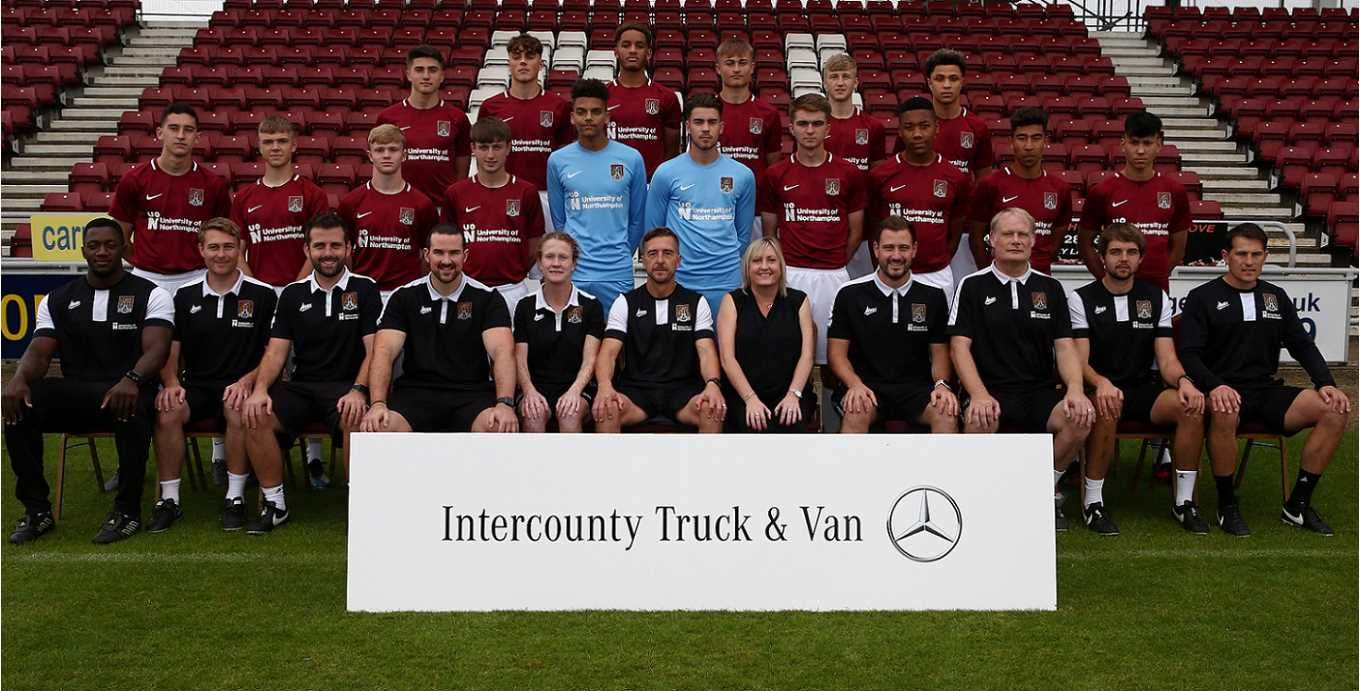 Image result for northampton town fc youth team
