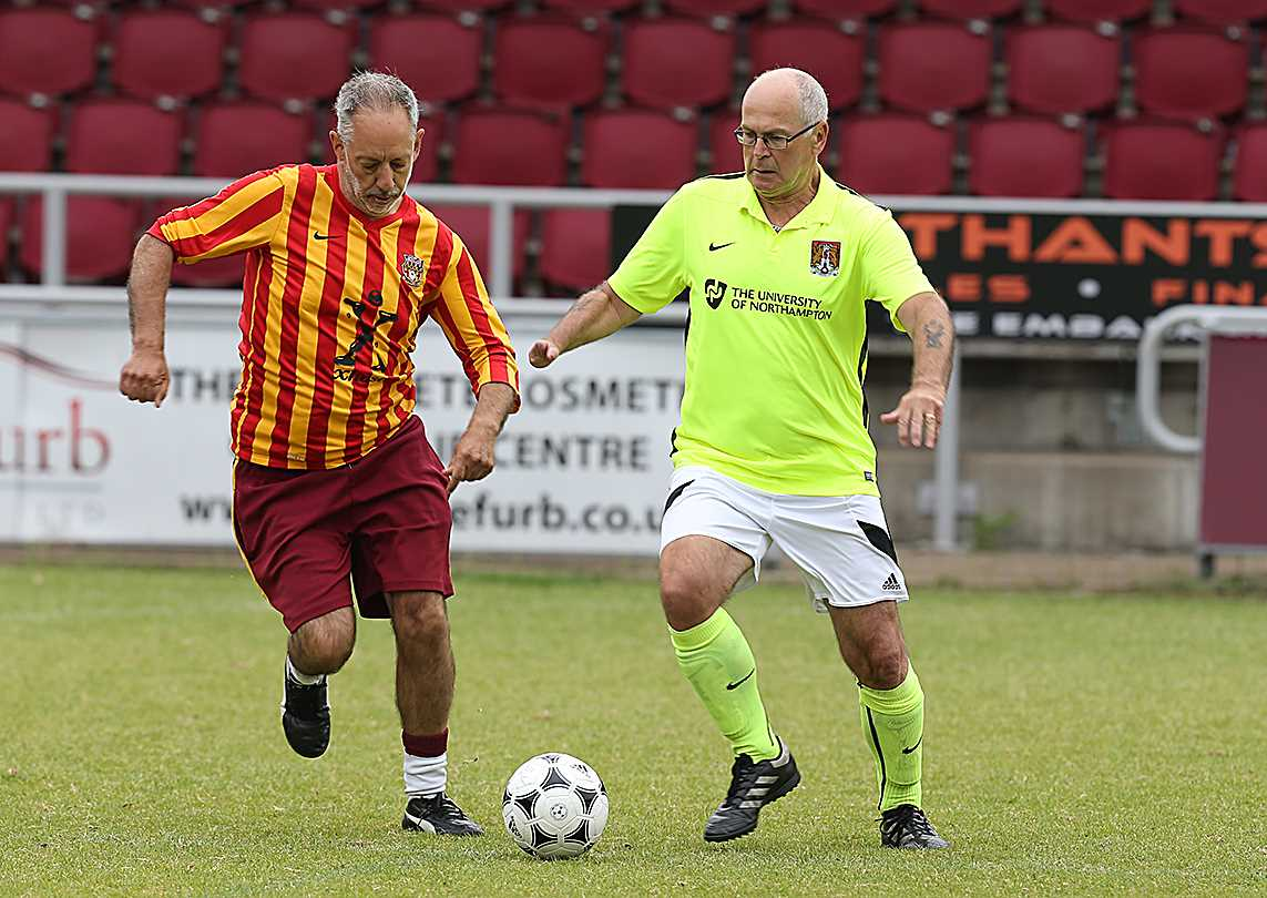 GALLERY: NORTHAMPTON TOWN STAGE WALKING FOOTBALL FESTIVAL